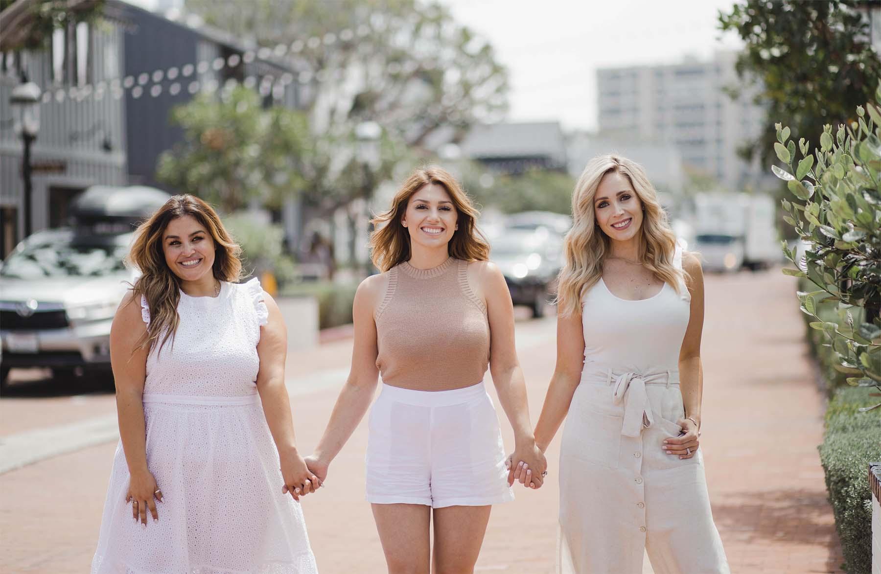 Marika Beroukas Mobile Preset Three women in